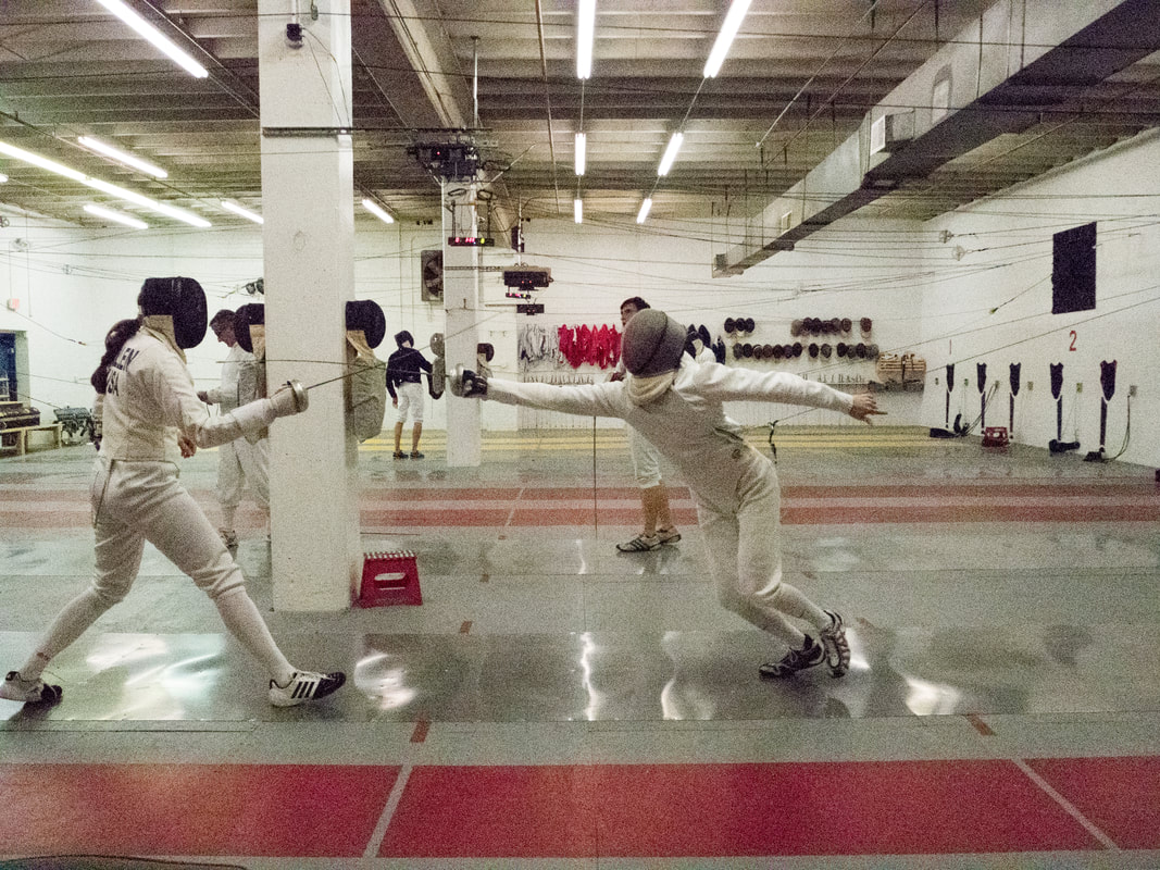 Epee Fencing in Falls Church