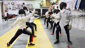 Beginning Fencing Class in Falls Church, Fairfax.